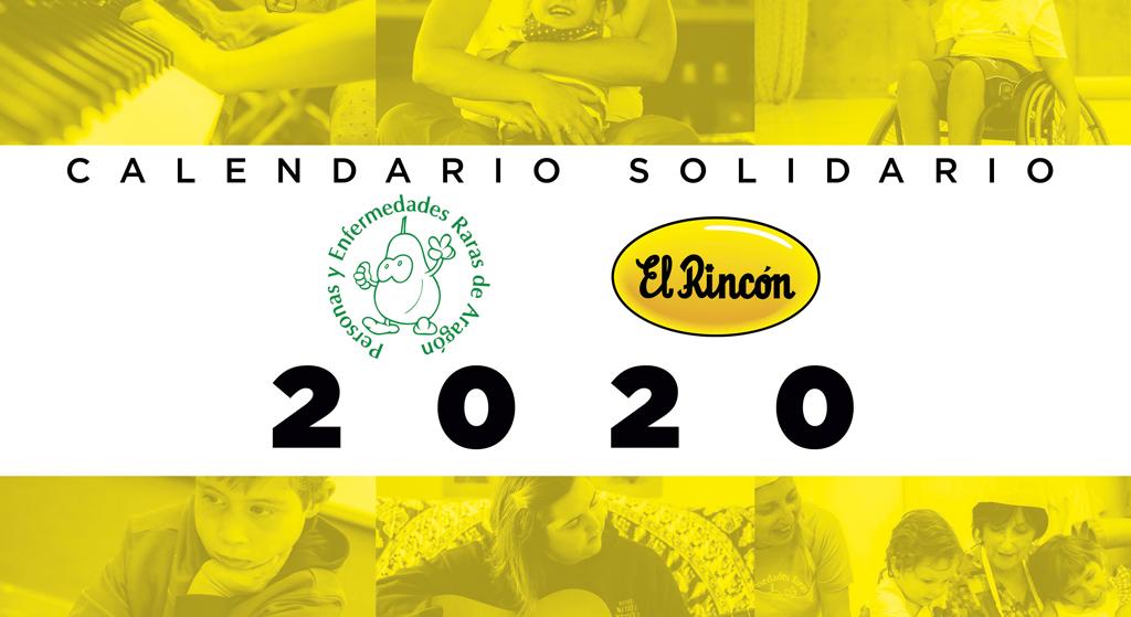 Calendario solidario Zaragoza