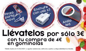 Promoción Gominolas Zaragoza