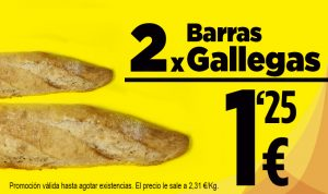 Promoción pan Gallegas