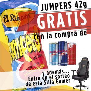 Promoción Red Bull y Jumpers